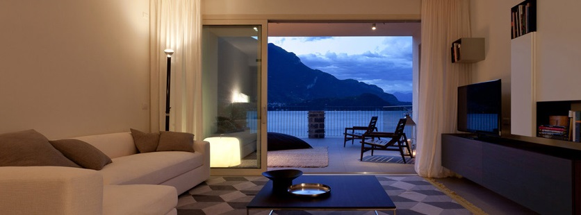 vacanza in una lake como homes